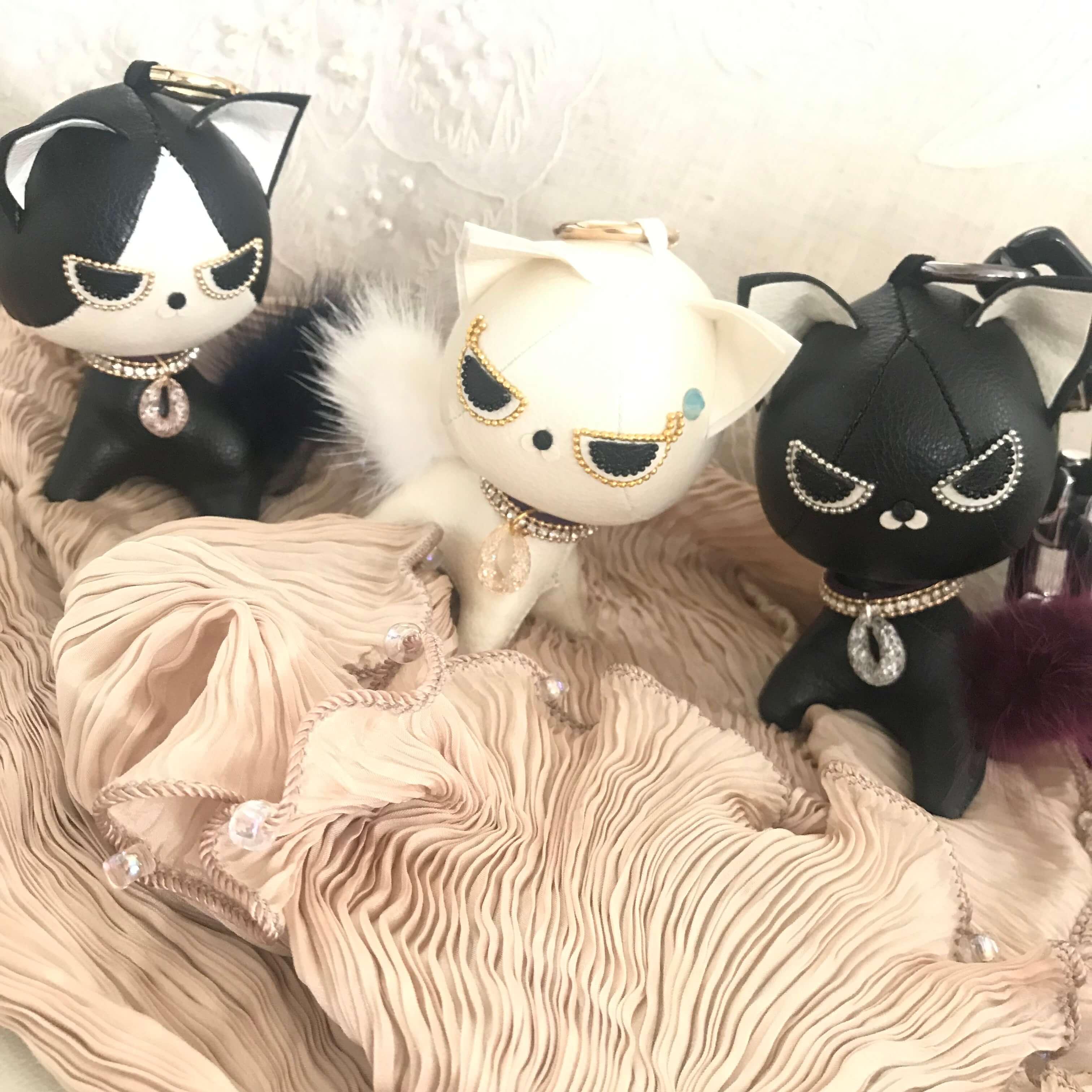 手作り出来る『ミリオンキャット』白猫・黒猫・白黒猫