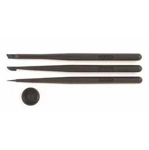 グルーデコのあると便利な道具 先の堅いタイプ↓鋭角に粘土(グルー)を整えたいときに便利