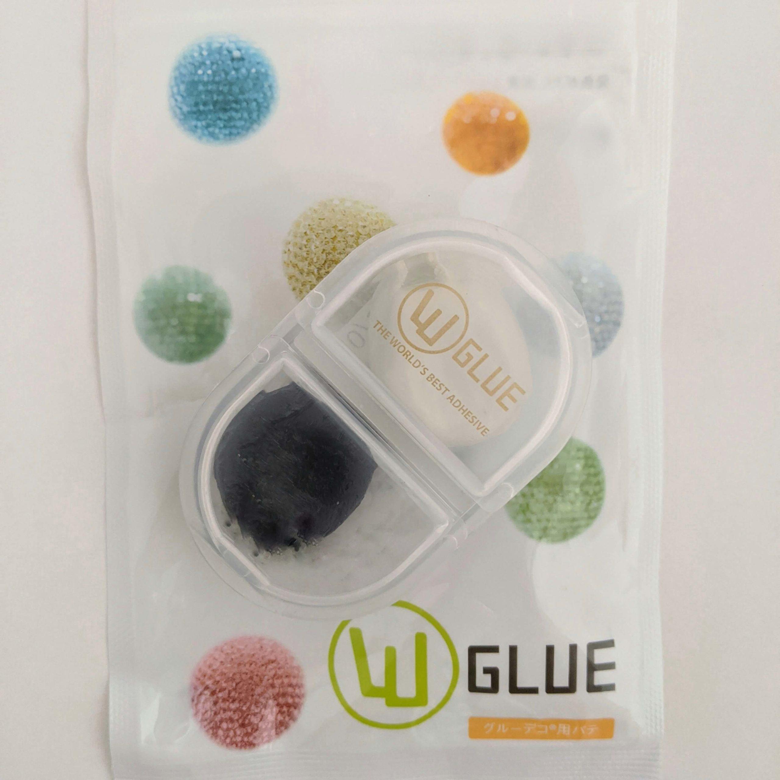 グルーデコを作る際に使う、日本グルーデコ協会が推奨している発色の良い粘土