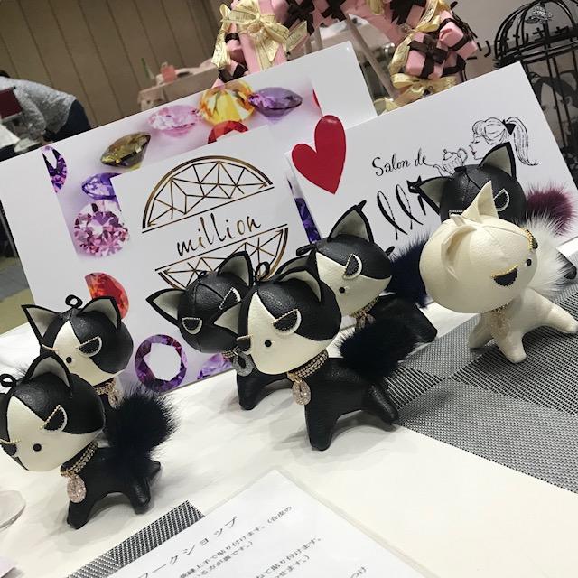日本ホビーショーのワークショップでのミリオンキャット達
