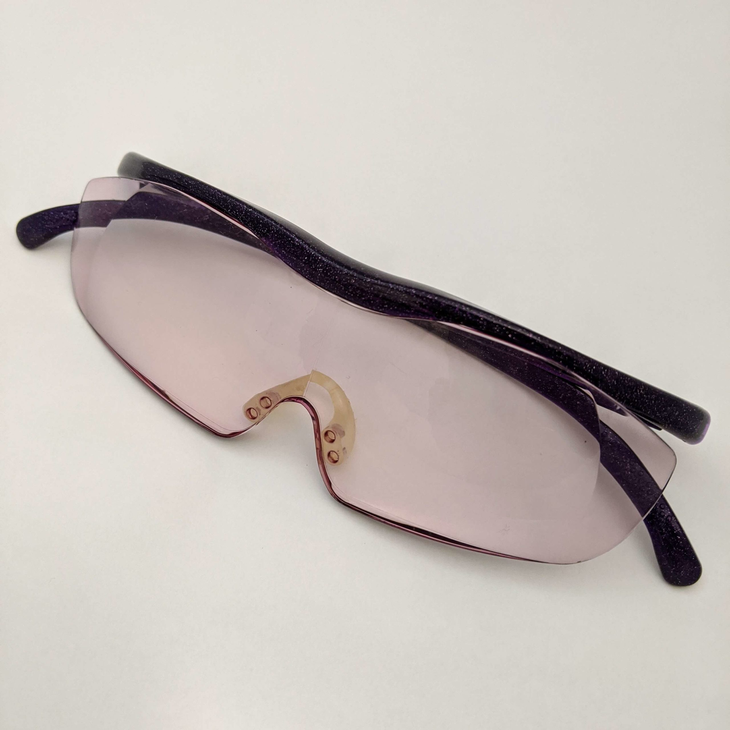 グルーデコを作る時にあると良い眼鏡型 拡大鏡のハズキルーペ