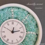 chantilly avenirシャンティアブニール(造花で作る置き時計) オンラインで受講可能な主婦に人気の習い事